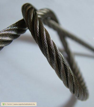 Drótkötél (6*19) 1770N/mm2 [M 4 mm - PVC]